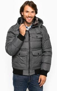 Куртка со съемным капюшоном и семью карманами Tom Tailor
