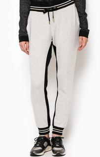 Зауженные брюки из вискозы с манжетами Liu Jo Sport