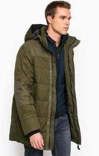 Удлиненная зимняя куртка с наполнителем Luhta