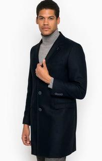 Классическое пальто из хлопка Trussardi Jeans