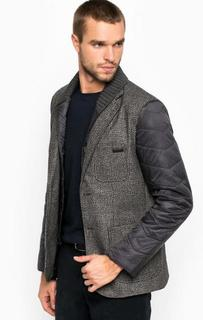 Куртка с ветрозащитной вставкой Trussardi Jeans