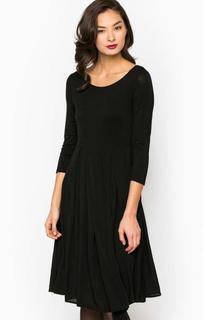 Платье из вискозы с рукавами 3/4 Think Chic