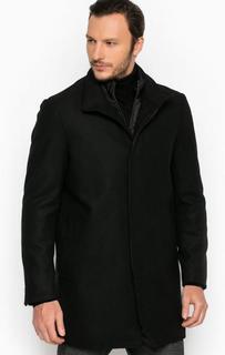 Однотонное шерстяное пальто Michael Michael Kors