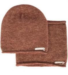 Комплект из шапки и шарфа-хомута из вискозы Noryalli