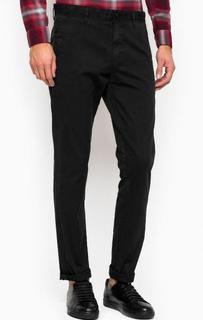 Черные зауженные брюки Calvin Klein Jeans