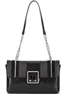 Кожаная сумка с замшевыми вставками Braccialini
