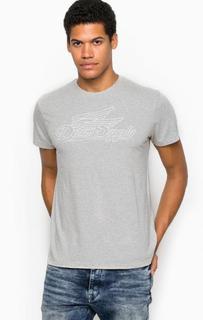 Хлопковая футболка с круглым вырезом D&S Ralph Lauren