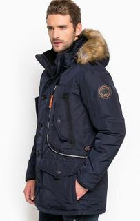 Удлиненная куртка со съемным капюшоном Tom Tailor
