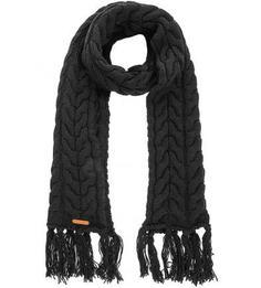 Вязаный шарф из акрила и шерсти Noryalli
