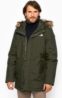 Демисезонная куртка цвета хаки The North Face