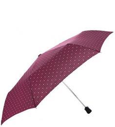 Полуавтоматический зонт с куполом в горошек Doppler
