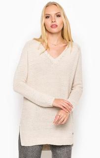 Удлиненный свитер из полиакрила Tom Tailor Denim