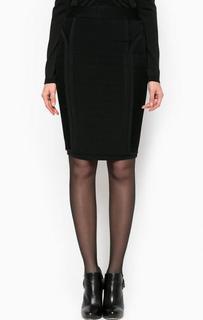 Эластичная юбка-карандаш черного цвета Marciano Guess