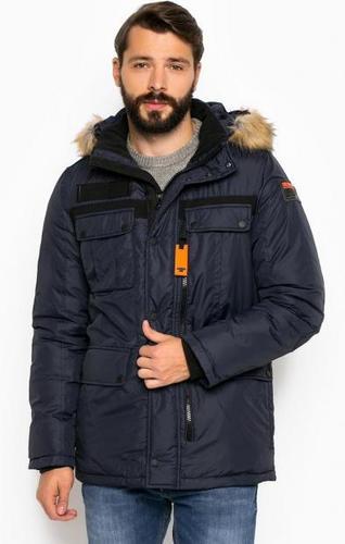 Зимняя куртка с семью карманами