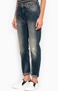 Рваные зауженные джинсы Hilfiger Denim
