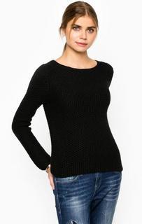 Черный шерстяной свитер Marc Opolo