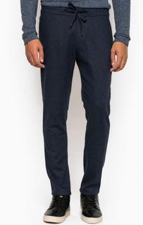 Трикотажные зауженные брюки на шнуре Drykorn