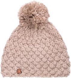 Однотонная вязаная шапка из акрила и шерсти R.Mountain