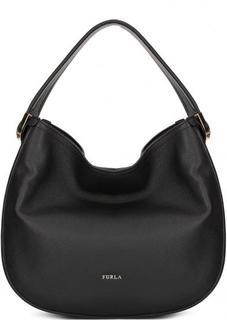 Кожаная сумка с одной ручкой и плечевым ремнем Furla