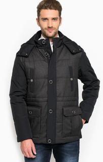 Хлопковая куртка со съемным капюшоном Lion OF Porches