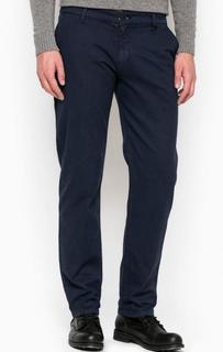 Синие хлопоквые брюки Liu Jo Uomo