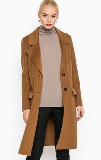 Длинное пальто из шерсти и лиоцелла Drykorn
