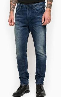 Зауженные джинсы с заломами Replay
