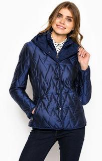 Куртка с капюшоном и ветрозащитной планкой Trussardi Jeans