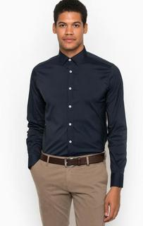 Приталенная рубашка из хлопка в горошек Liu Jo Uomo