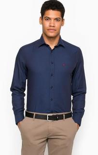 Хлопковая рубашка с приталенным кроем Lion OF Porches