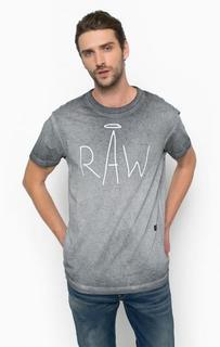 Хлопковая футболка с короткими рукавами G Star RAW