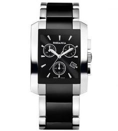 Часы с циферблатом прямоугольной формы Rodania