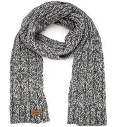 Вязанный шарф из шерсти и альпаки Noryalli