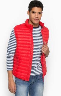 Красный жилет с наполнителем Pepe Jeans