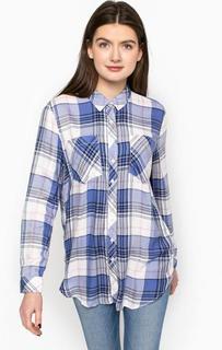 Блуза в клетку с карманами Hilfiger Denim