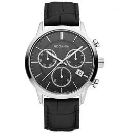 Часы круглой формы с хронографом Rodania