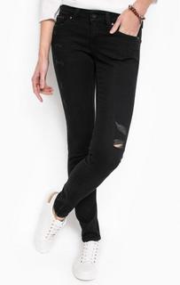 Рваные джинсы с низкой посадкой Hilfiger Denim