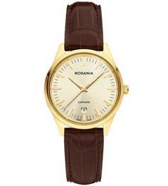 Часы с ремешком из натуральной кожи Rodania