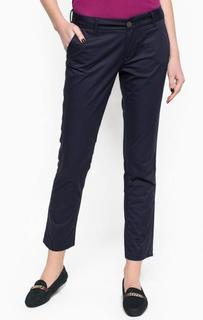 Синие брюки чиносы из хлопка Hilfiger Denim