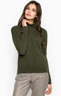 Шерстяной свитер цвета хаки River Woods