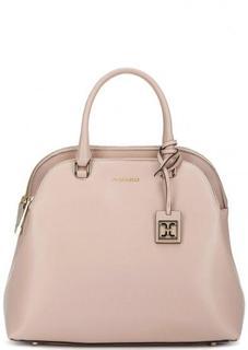 Кожаная сумка на молнии с короткими ручками Coccinelle