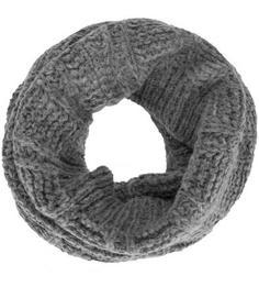 Серый шарф-хомут Replay