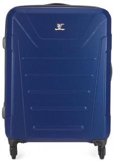 Синий чемодан с двумя отделами Verage