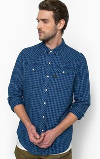 Рубашка из хлопка в клетку с нагрудными карманами G Star RAW