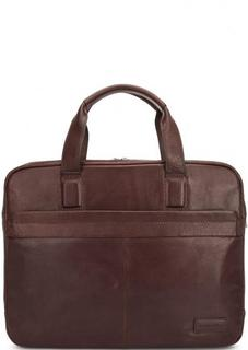 Кожаная сумка через плечо с короткими ручками Sergio Belotti