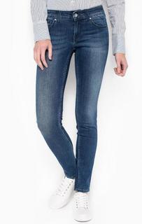 Синие джинсы с низкой посадкой Hilfiger Denim