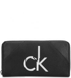 Кошелек с логотипом бренда Calvin Klein Jeans