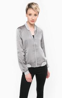 Серая легкая куртка из полиэстера Vero Moda