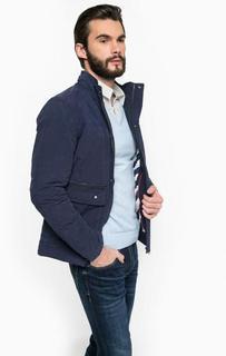 Синяя куртка из хлопка Hilfiger Denim