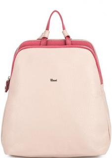 Кожаный рюкзак с узкими лямками Bruno Rossi